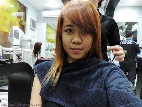 warna rambut golden blonde vrizillya navaera clayvia makeover with makarizo hair