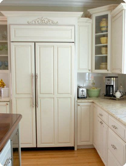 refrigerator with cabinet doors 31 days of inspired style day 24 kitchens