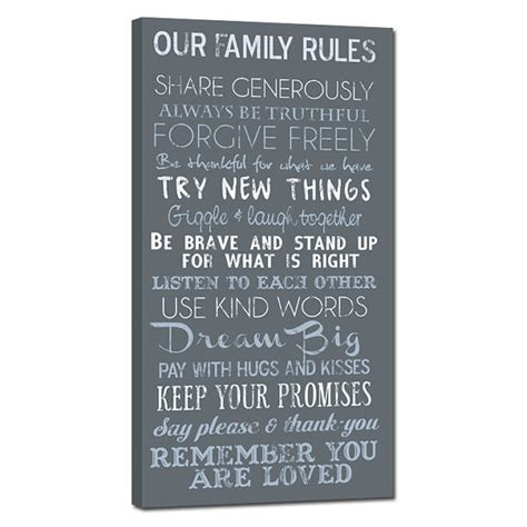 house rules word art custom designs family house rules quotes sayings custom lyrics vows