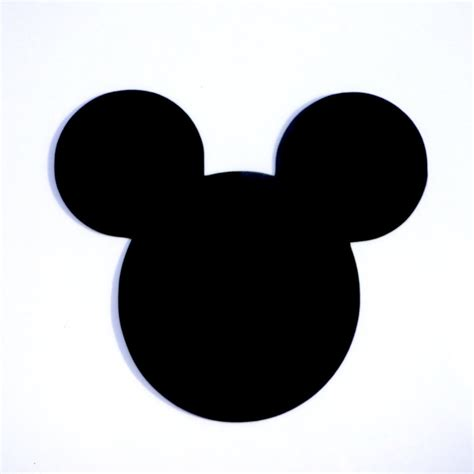 Mickey Mouse by 4 Mickey Mouse Ears Die Cut Disney S Mickey