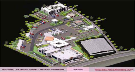 New Museum Floor Plan roads highways and bus stands