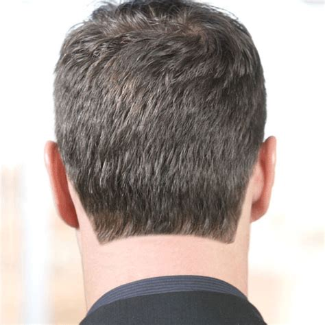 back of head asymettrical hair line cuts how to choose a blocked rounded or tapered neckline