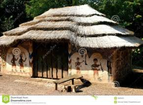 Simple Country Home Plans african painted house royalty free stock image image