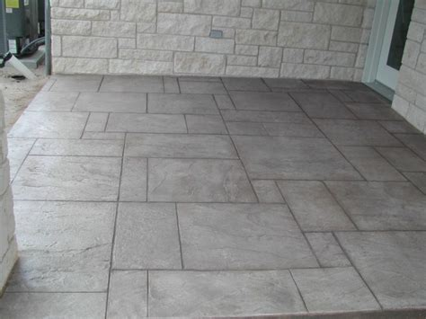 sted concrete patio floor hmmm not a bad idea