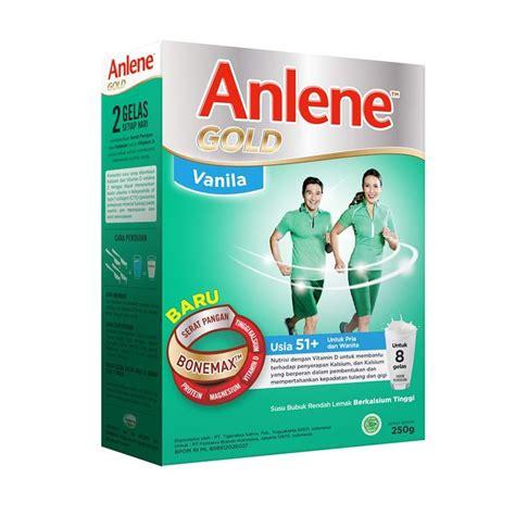 Anlene Gold 250 Gram Jual Anlene Gold 51 Vanilla 250 G Harga