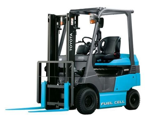 Toyota Forklift Release Toyota Commences The Use Of Fuel Cell Forklifts At Its