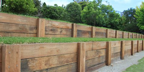 Hardwood Timber Sleepers by Treated Pine Sleepers Melbourne Hardwood Timber Sleepers