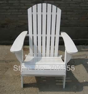 Wood Patio Chairs Outdoor Furniture Adirondack Chair White Finish Patio Cheap Resin Wood Garden Armchair