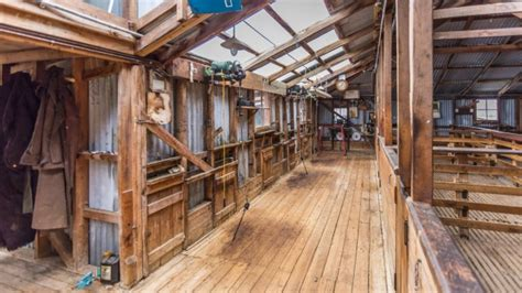 Shearing Shed For Sale by Mt Cook Station In New Zealand For Sale After 151 Years