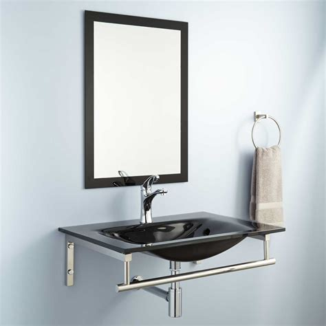 wall mount towel bar leiden wall mount sink with towel bar bathroom