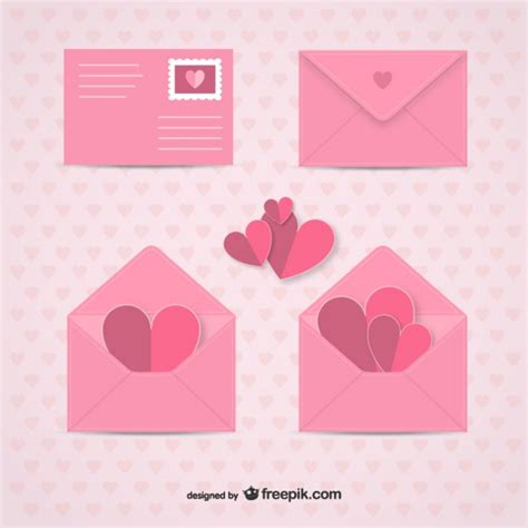 s day envelopes vector free