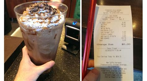 sets new record for most expensive starbucks drink order we feast