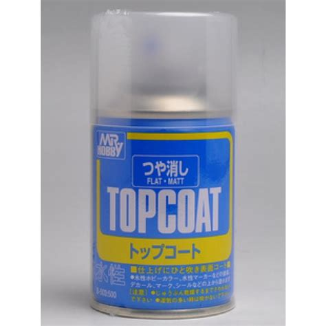 Premium Top Coat Flat Mr Hobby b503 mr hobby top coat flat 86ml spray bandai gundam models kits premium shop