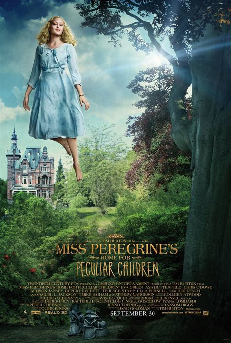 peregrines home  peculiar children  posters