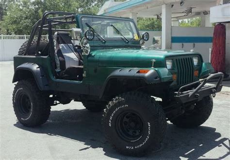 modified jeep wrangler yj 1991 jeep wrangler yj highly modified road ready