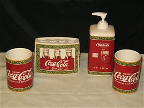 coca cola bathroom decor 29 best images about 2 coke bathroom shower curtains on pinterest outdoor fabric