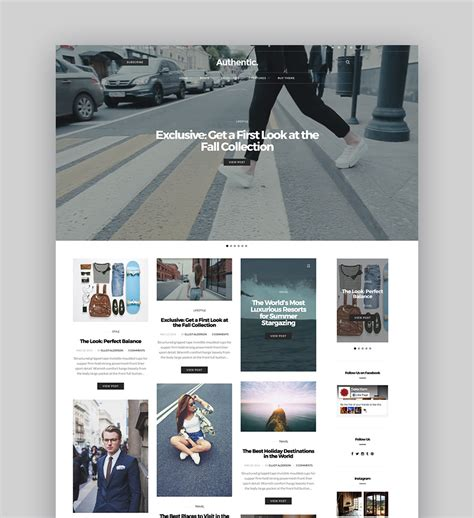 wordpress themes lifestyle blog best wordpress magazine themes for blog and news websites
