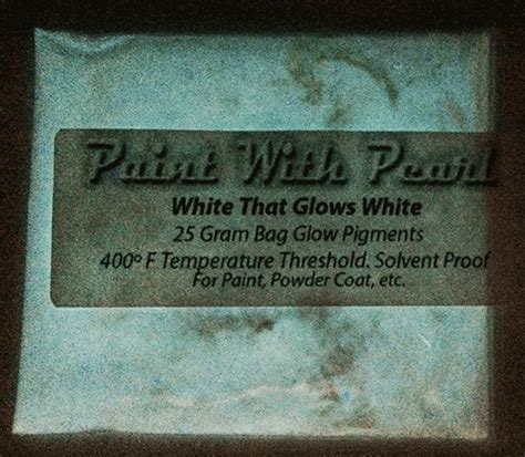 glow in the paint lasting white to white glow in the paint kandypearls