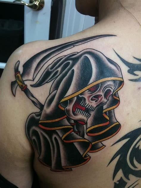 traditional grim reaper tattoo 13 traditional tattoos