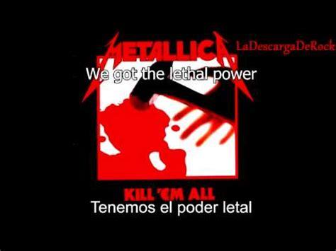 metallica hit the lights lyrics metallica hit the lights lyrics english subt 237 tulos