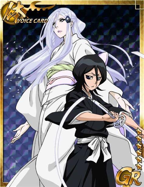 cards from the bleach bankai battle game ichigo rukia