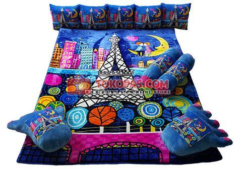Karpet Karakter Lv Fullset karpet selimut set karakter lembut motif kartun dewasa