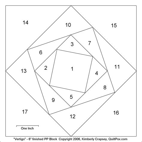 paper piecing templates free free paper piecing patterns vertigo 6inch paperpiece