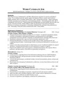 assistant templates 28 best images about executive assistant resume exles