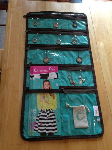 Origami Owl Bag - the uptown jewelry bag makes a storage bag for all