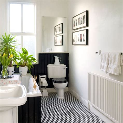 traditional black and white bathrooms modern world