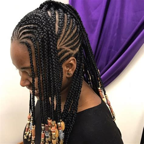 hairstyles with braids and beads 12 gorgeous braided hairstyles with beads from instagram