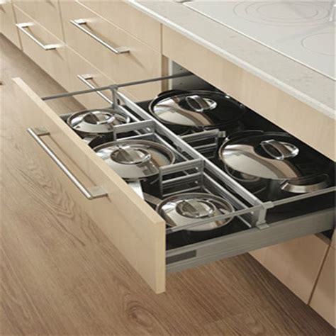 Modular Kitchen Baskets Designs Modular Kitchen Drawer Storage Units In Delhi India