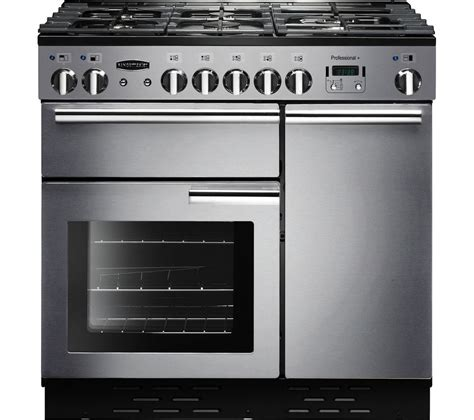 Oven Gas Stainless Uk 120 buy rangemaster professional 90 gas range cooker stainless steel chrome free delivery