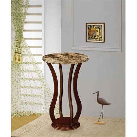 table top plant stands indoor cherry marble top plant stand coaster furniture