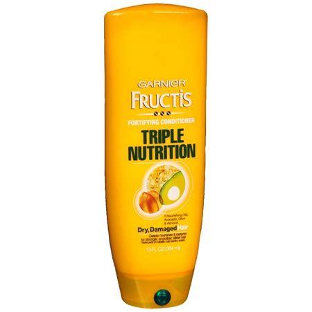shoo garnier triple nutrition extra dry damaged hair garnier fructis haircare triple nutrition fortifying cream
