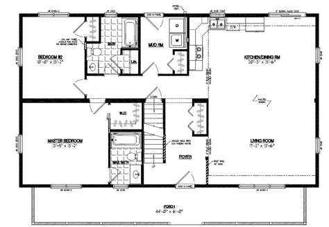 28x48 floor plans 28x48 mountaineer deluxe certified floor plan 28md1405