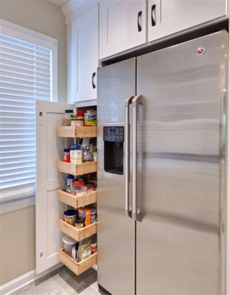 Refrigerated Pantry by 19 Versatile And Practical Pull Out Shelf