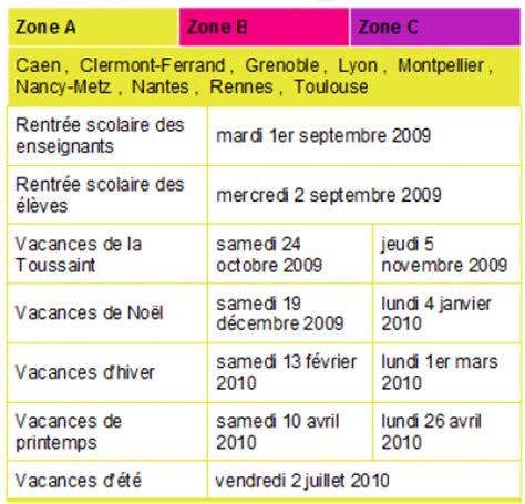 Calendrier 5 Juillet 1985 Calendrier Des Vacances Scolaires Erratum Et B 233 Vues Au