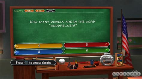 Are You Smarter Than A 5th Grader Make The Grade Gamespot Are You Smarter Than A 5th Grader Template