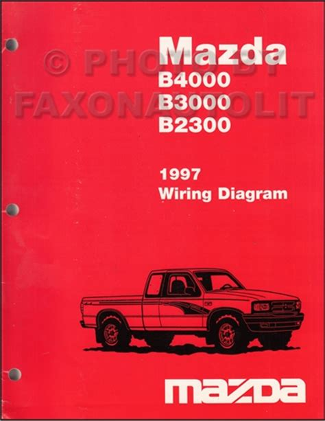car engine repair manual 2002 mazda b series plus spare parts catalogs 1997 mazda b4000 b3000 b2300 pickup truck wiring diagram manual original