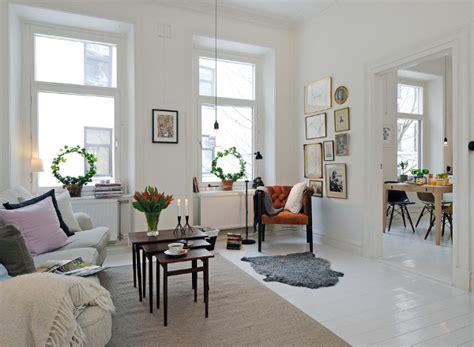 Scandinavian Livingroom by Inspirerande Vardagsrum Hos Alvhem M 228 Kleri Dansk