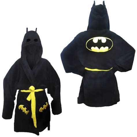 Change Bath To Shower batman hooded bath robe