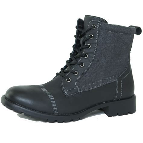 combat boots alpine swiss s combat boots lug sole rugged canvas