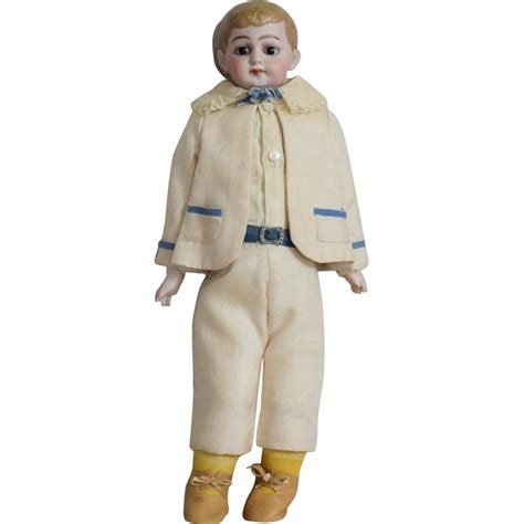 bisque boy doll german bisque american school boy doll from joan