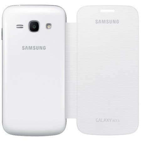Galaxy Ace 3 White official samsung galaxy ace 3 flip cover white mobilezap australia