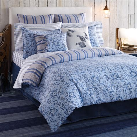 Blue Comforters by Extraordinary Blue Paisley Bedding For Ordinary Bedroom