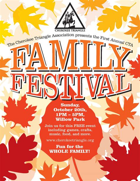 Festival Template 9 Best Images Of Fall Flyer Template Word Fall Festival
