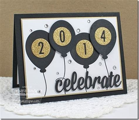 New Year Handmade Cards Ideas - 1000 ideas about new year greeting cards on