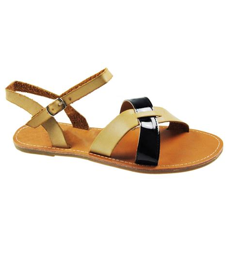 Leather Sandals For Summer by New Womens Flat Ankle Summer Buckle Leather