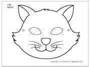 Cat Mask Template by Cat Mask Printable Templates Coloring Pages